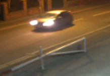 Police are keen to locate a silver or blue coloured Vauxhall Corsa as pictured
