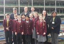 Year 5 and 6 pupils visit the new 10-storey super hospital in Smethwick