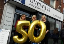 Danielle Dudley-Pooler, Claire Guthrie and Emma Lewis, of the Fiveways team