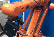 ABB robot installed at Filtermist's Telford manufacturing facility