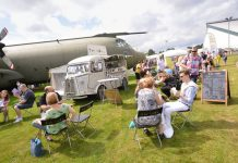 Over 90 local producers will be at this year's Cosford Food Festival. Photo: ©Trustees of the Royal Air Force Museum