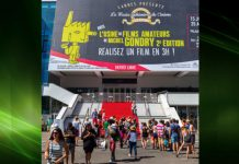 Festival Square at the entrance to the Cannes Film Festival where the FAB PAVE access covers have been installed
