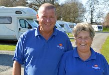 Managers Gary and Tania Smith