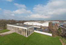 Halesfield 6 - a large industrial complex in Telford