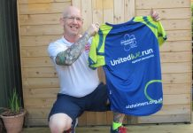 Steve Shaw is running the marathon for the Alzheimer's Society