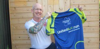Steve Shaw is running the marathon for the Alzheimer's Society