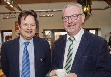 Iain Morrison, partner and head of the firm's agricultural and rural affairs division and John Amos