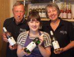 Geoff Ferguson (owner), Nikita Mullard-Davies (Customer Service Assistant), June Ferguson (owner)