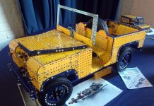 Meccano display at Enginuity