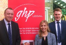 Nathan Wright (Partner), with Sarah Tidswell and Nick Hughes