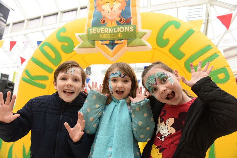 The Severn Lions kids' club is returning  to the Darwin and Pride Hill shopping centres