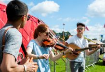 Young and emerging musicians are being sought to get a chance to perform at Shrewsbury Folk Festival