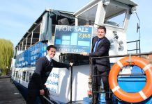Mark Hooper from Sabrina Boat and Max Johnson of Zaza Johnson & Bath