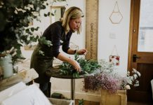 Big Little things will be holding flower arranging workshops in June. Photo: Indie Love Photography