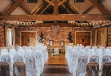 The venue has recently been granted a new Civil Wedding License for their stunning Victorian Barn
