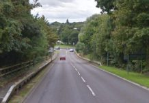 A view of Haycock Way before the improvement works began. Photo: Google Street View