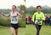 Winners David Webb and Belle Ward. Photos: ©Sussex Sport Photography 2017