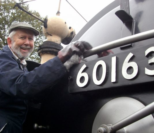 1. Volunteer Richard Hill, whose donation took the appeal total to £1 million for the SVR Charitable Trust