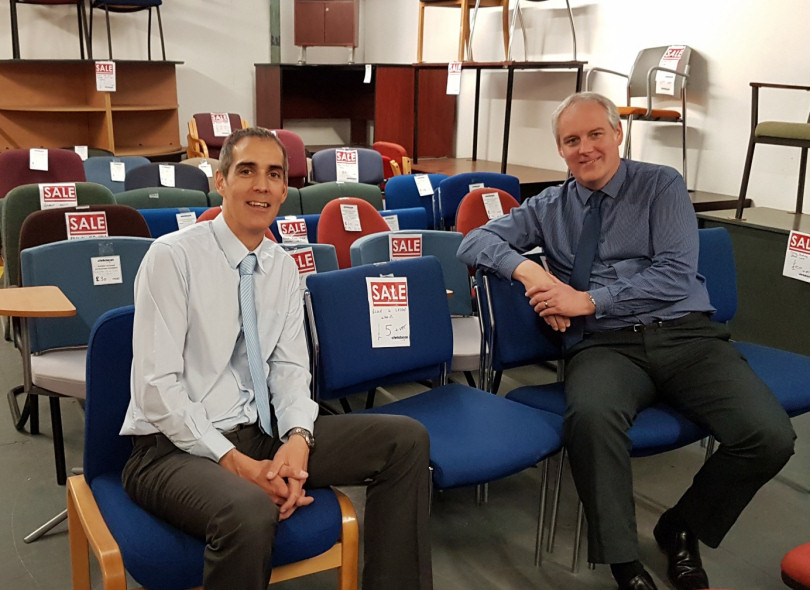 Shropshire Company Offers Free Office Furniture To