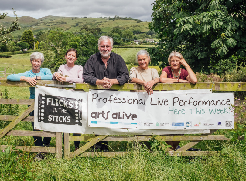 The Arts Alive team