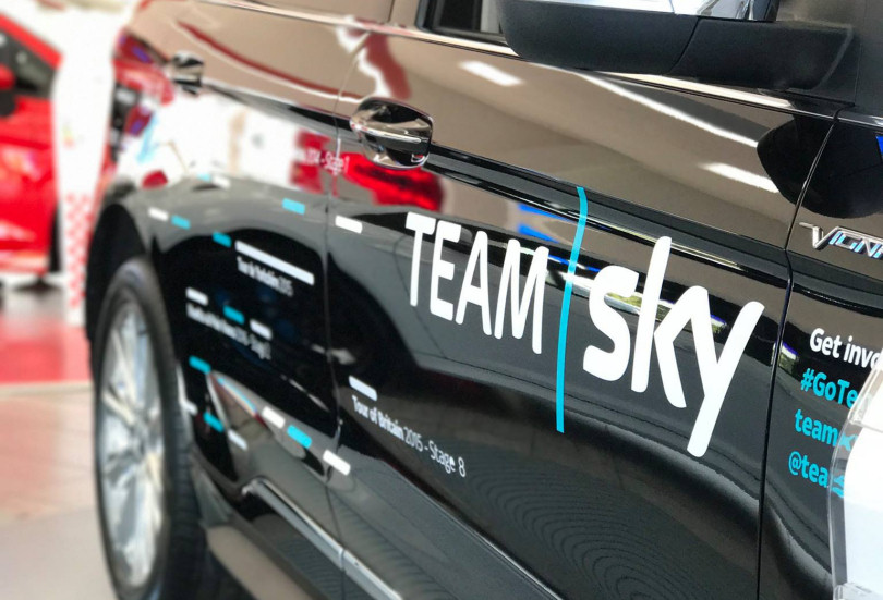 tour de ford in association with team sky comes to furrows. Black Bedroom Furniture Sets. Home Design Ideas