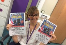 Oakmeadow School headmistress Carla Whelan spreads the word about the circus