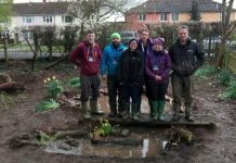The team at Mereside C of E Primary in Shrewsbury