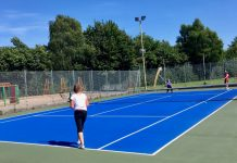 The LTA's Transforming British Tennis Together initiative aims to help improve tennis facilities around the country, like the courts at Shrewsbury's Monkmoor Recreation Ground