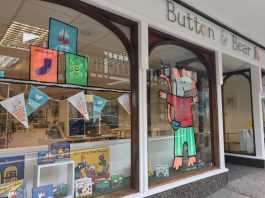 Button & Bear Bookshop on Castle Street in Shrewsbury