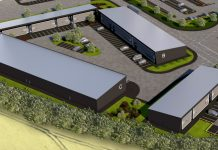 Newport Enterprise Park artists impression