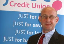 Steve Barras who has been appointed by Just Credit Union as their new Business Development Officer