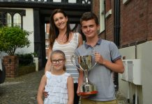 Coco Brookes, Deborah Hill-Brookes and Oliver Davies