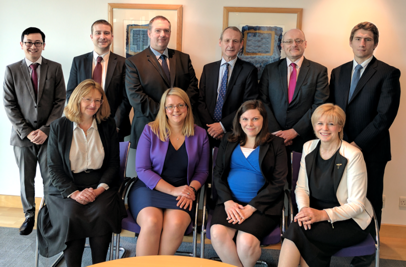 The Chartered Tax Advisors at Whittingham Riddell are; (top row left to right) Wayne Lee, James Clark, David Jones, Michael Sheppard, Paul Monaghan and Michael Jamieson (bottom row left to right) Caroline Monro, Allison Beer, Elizabeth Read and  Katie Bell (not pictured)