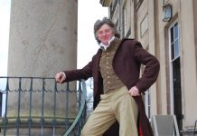 Martin Jones, will be leading the early evening tours at Attingham as 'Thomas, 2nd Lord Berwick' on Saturday 15 and Saturday 22 July, and Saturday 19 August this summer. Photo: National Trust