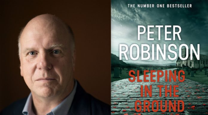 Peter Robinson, creator of the famous Inspector Banks crime series