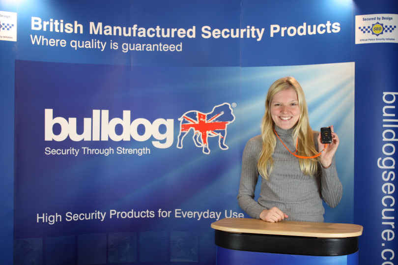 Lucy Bates, sales and marketing at Bulldog Security Products