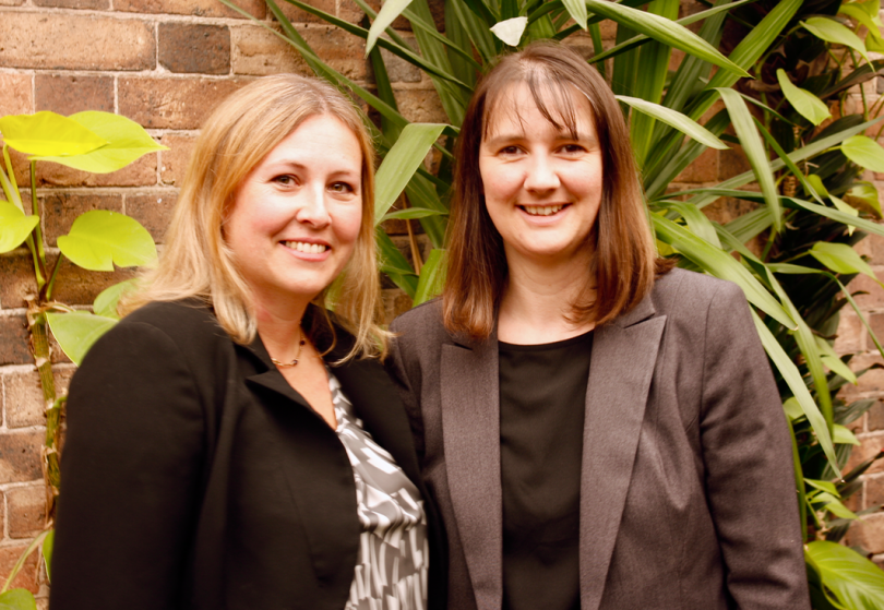 Marketing manager Lisa Snape (left) and hotel general manager Joanne Boddison