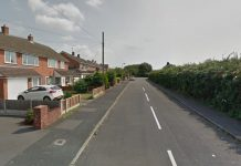 The assault took place on Copperfield Drive in Muxton. Photo: Google Street View