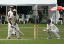 Omar Ali hit 53 for Shropshire in the second innings at St Austell