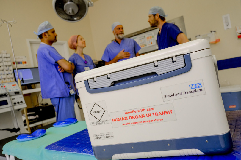 50000 people alive due to organ donation