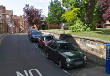 On street parking at Belmont in Shrewsbury. Photo: Google Street View