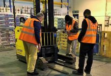 Training warehouse staff and drivers