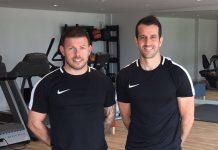 Directors of Ultimate Fitness Simon Macdonald and Tom Meehan
