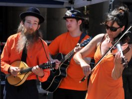The Klezmonauts will be performing their unique Klezmer music in the streets at Oswestry CultureFest