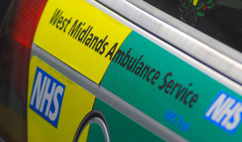 West Midlands Ambulance Service rang in 2017 with the