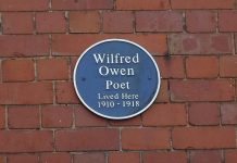 In 2014 English Heritage awarded Wilfred Owen's Shrewsbury home Grade II listed status