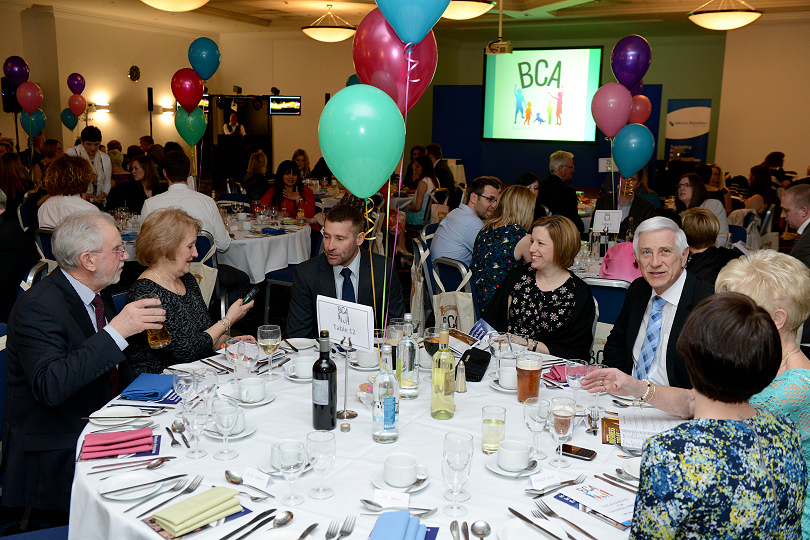 Guests enjoying a previous Shropshire Businesses for Children Awards