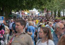 Thousands of people enjoy Shrewsbury Flower Show each year.