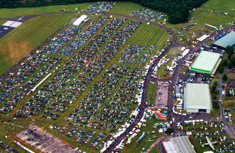 Thousands of people attended last year's RAF Cosford Air Show. Photo: Peter Reoch