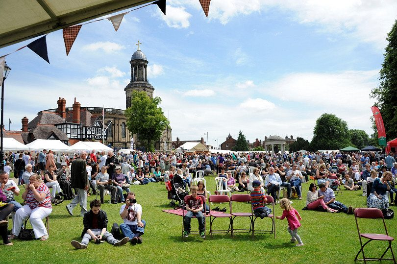 Thousands of people will attend this year's Shrewsbury Food Festival